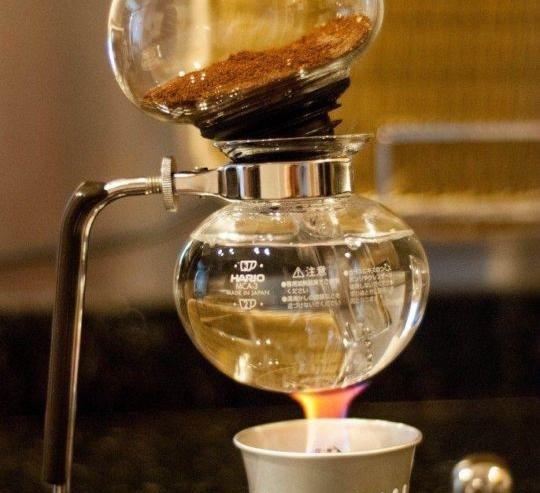 Syphon ile Kahve Demleme