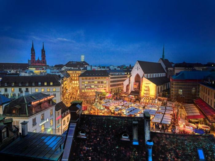 İsviçre, Basler Weihnachtsmarkt | Fotoğraf: basel.com