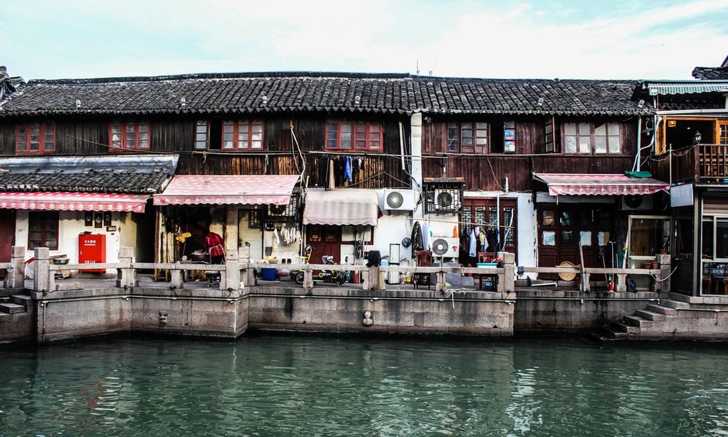 Zhujiajiao'dan İlk Manzara