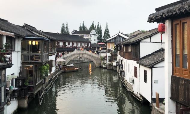 Zhujiajiao Gün Batımı