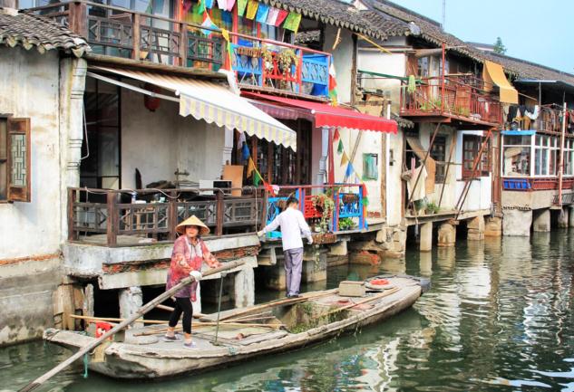 Zhujiajiao: Şanghay Yakınlarında Venedik Esintisi