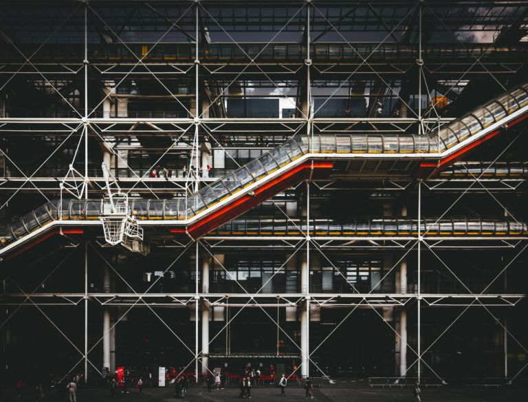 Centre Pompidou, Paris, Fransa   Fotoğraf: Denys Nevozhai