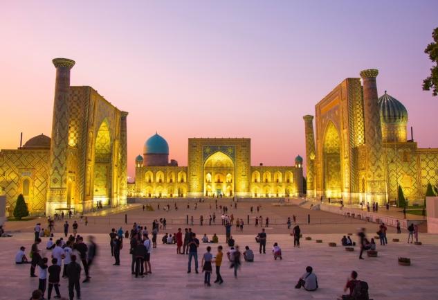 Semerkand: Özbekistan ve İpek Yolu'nun İncisi