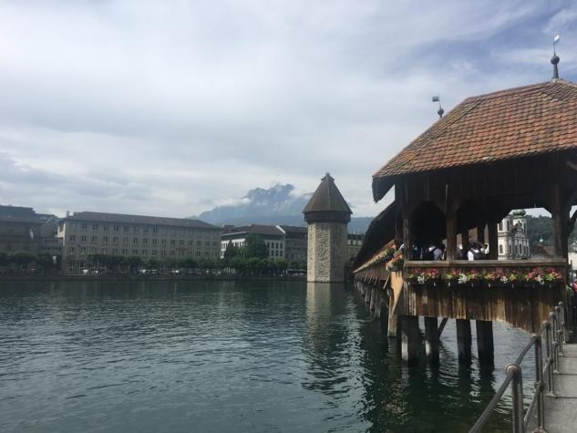 Kapell Köprüsü Luzern