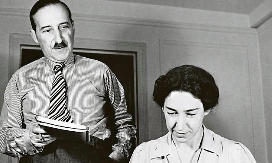 Stefan Zweig ve Charlotte (Lotte) Altmann