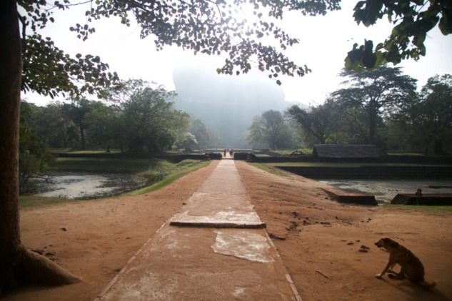 Sigiriya Tepesi, Sri Lanka