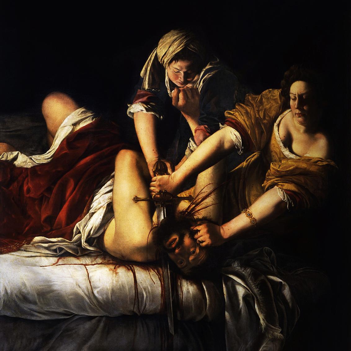 Artemisia Gentileschi, Judith Slaying Holofernes