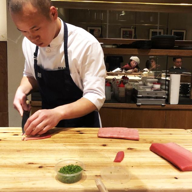 Azabu Dining – Taze Balıklardan Yapılan Sushi'ler