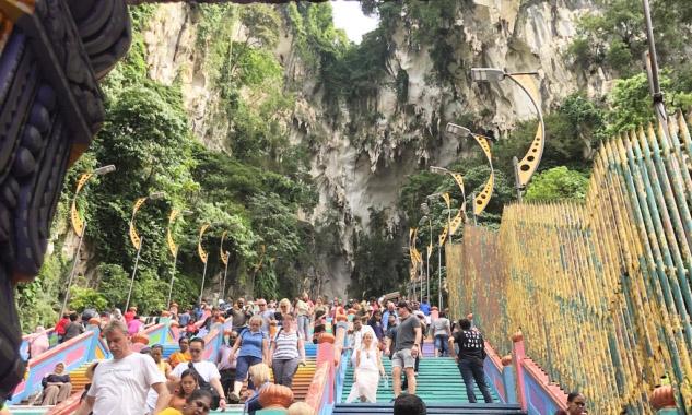 Batu Caves Merdivenleri, Malezya