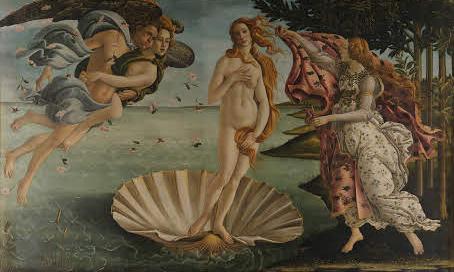 Sandro Botticelli, Venüs'ün Doğuşu