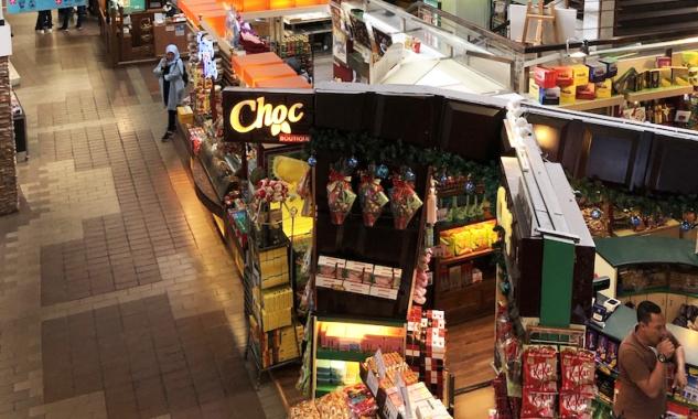 Central Market'ın İçi