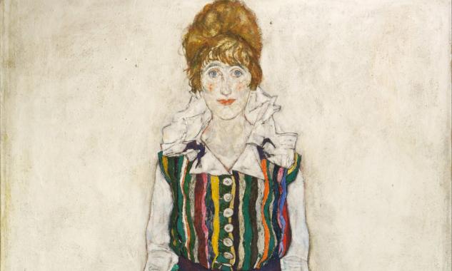 Egon Schiele, Portrait of Edith, The Artist's Wife