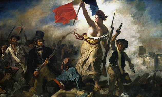 Eugène Delacroix, Liberty Leading the People