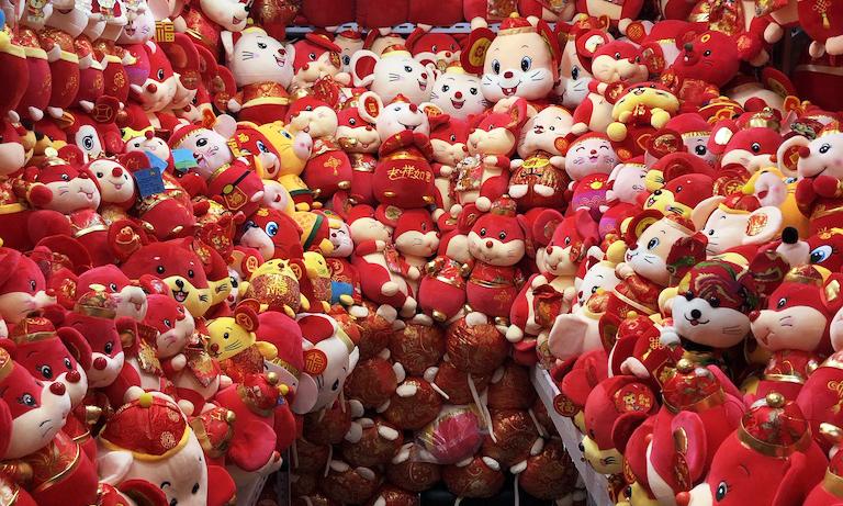 Fare Yılına Hazırlık, Çin Yeni Yılı