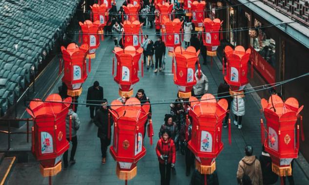 Fener Süslemeleri, Çin Yeni Yılı