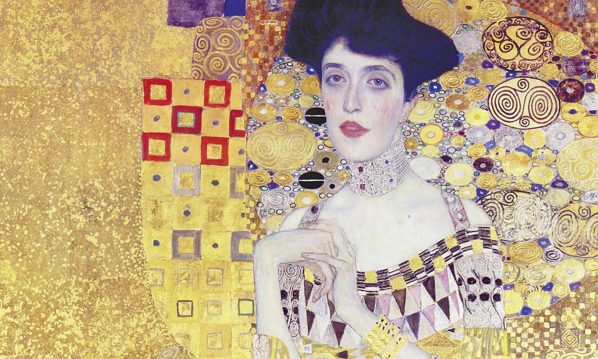 Gustav Klimt, Portrait of Adele Bloch-Bauer