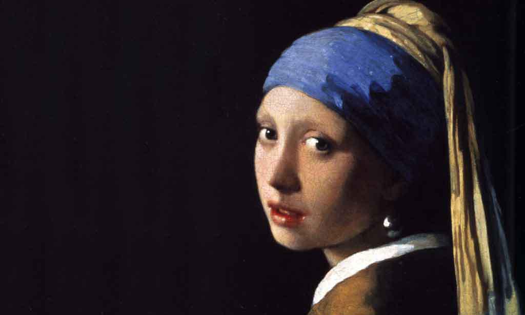 Johannes Vermeer, İnci Küpeli Kadın
