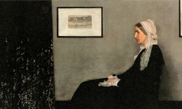 James Abbott McNeill Whistler, Arrangement in Grey and Black
