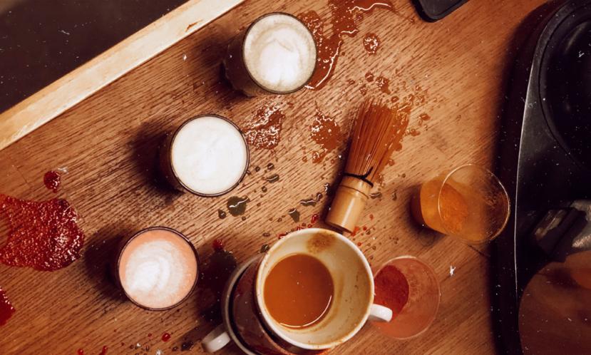 Matcha Latte, Zerdeçal Latte, Pancar Latte