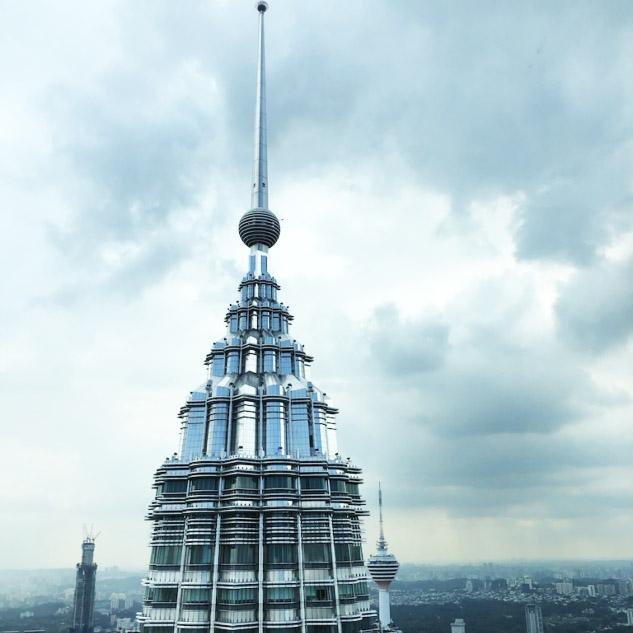 Petronas Kulesinin Yüksek Katları
