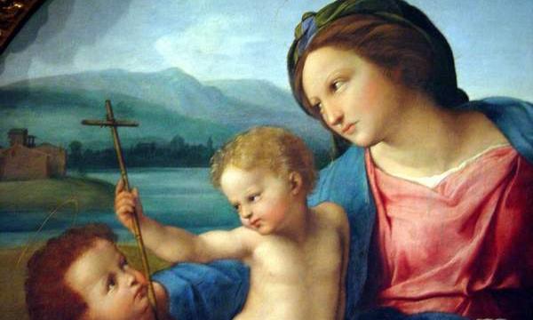 Raffaello Sanzio, Meryem Ana Tablosu