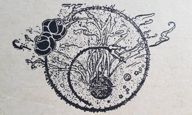 Haluk'un Defteri El Yazmasından Bir Çizim