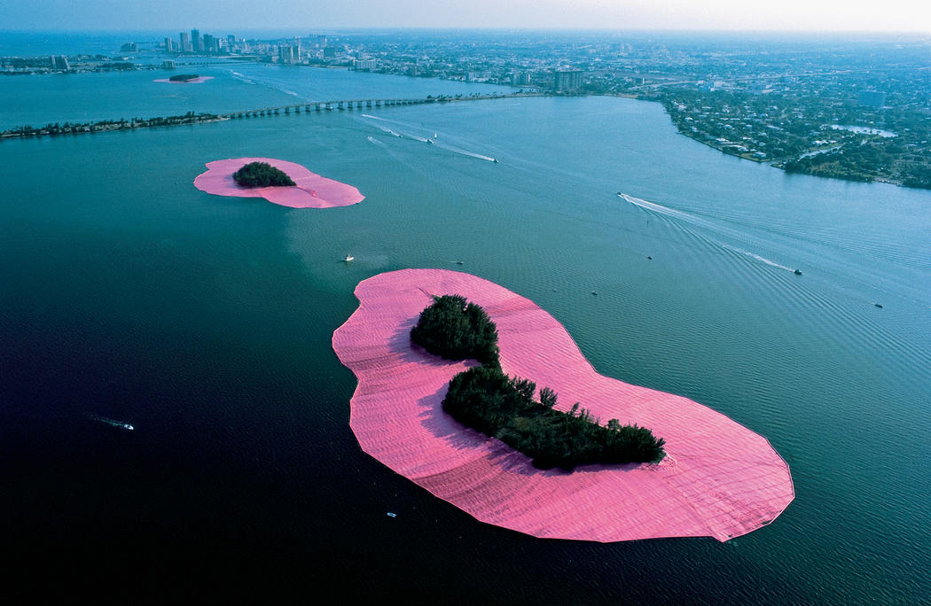 Christo and Jeanne-Claude, Surrounded Islands, 1983