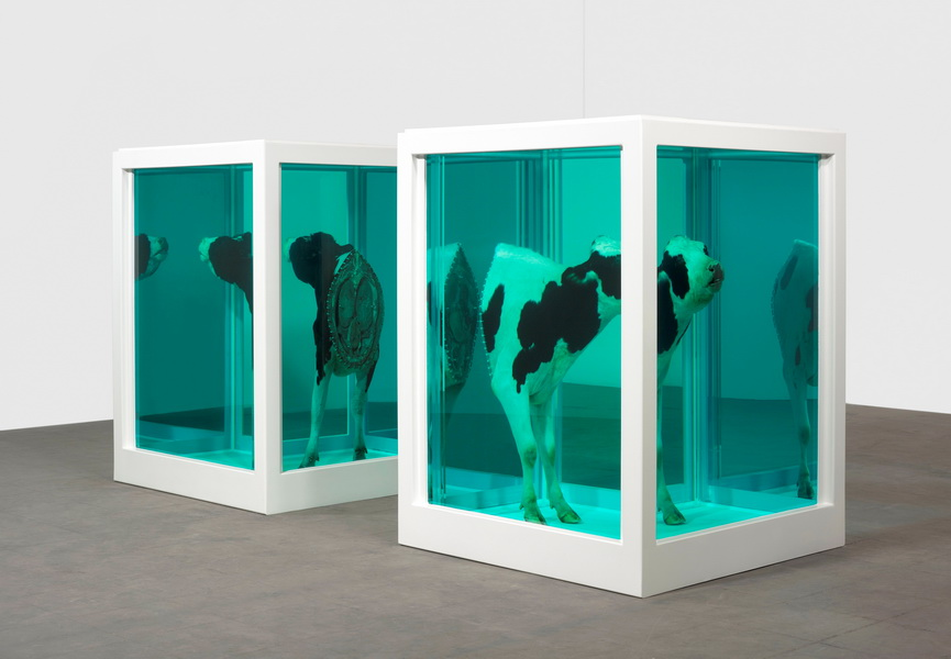 Damien Hirst, Love's Paradox (Surrender or Autonomy, Separateness as a Precondition for Connection.), 2007