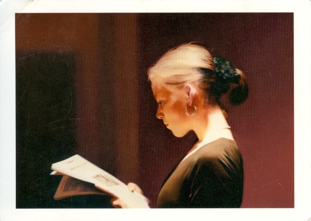 Gerhard Richter, Reading, 1994