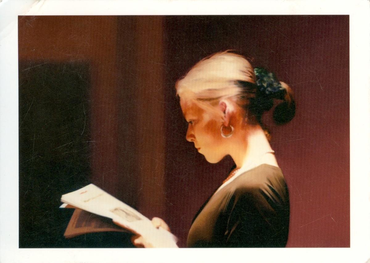 Gerhard Richter, Reading, 1994
