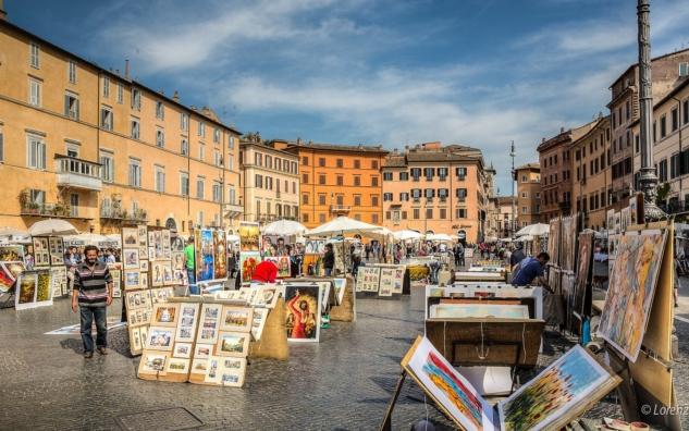 Sokak Sanatçılarının Evi, Piazza Navona