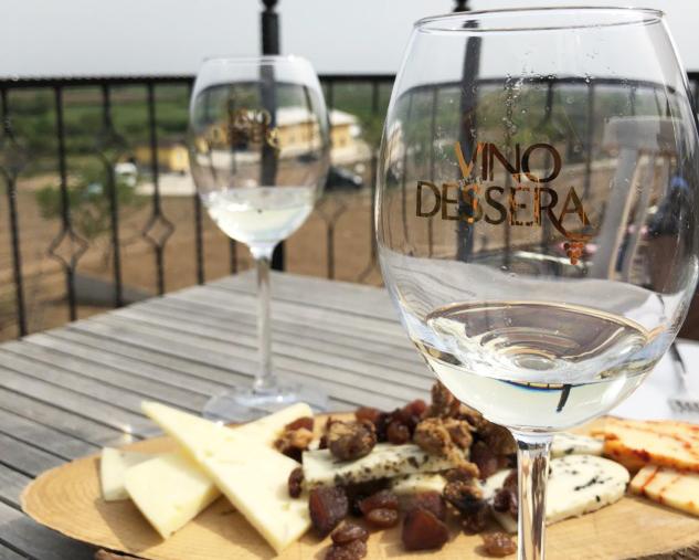Dessera Bağ Evi'nde Şarap Tadımı