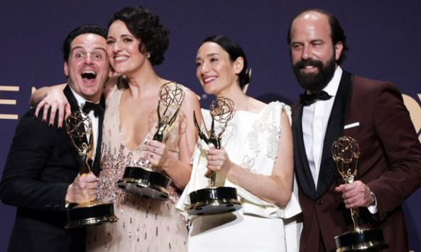 Fleabag Ekibi 2019 Emmy Ödülleri Töreni