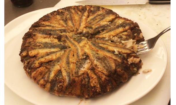 Pişmiş Hamsili Pilav