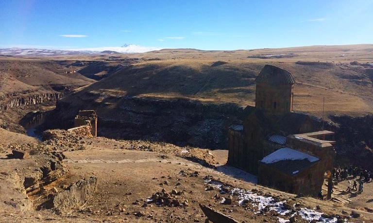 Ani Harabeleri, Kars Gezisi