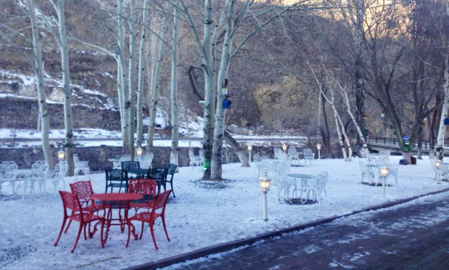 Katerina Sarayı Bahçesi, Kars Gezisi