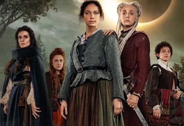 Luna Nera: Netflix'ten Bol Cadılı Bir Orta Çağ Dizisi