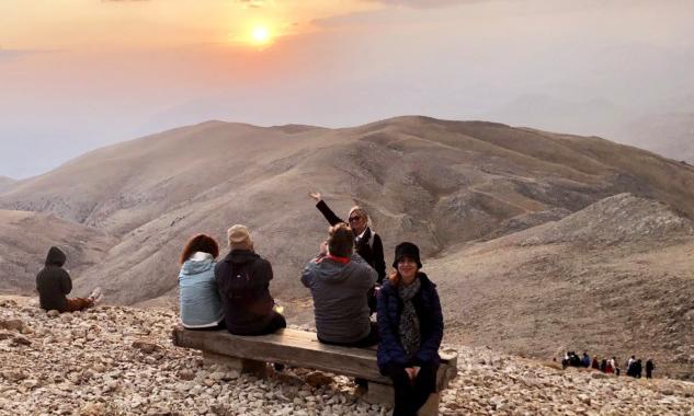 Nemrut Dağı'nda Güneşin Batışı