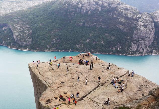 Norveç Fiyortları Gezisi: Gemi ile Seyahat