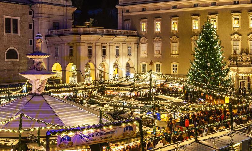 Noel Dönemi Salzburg