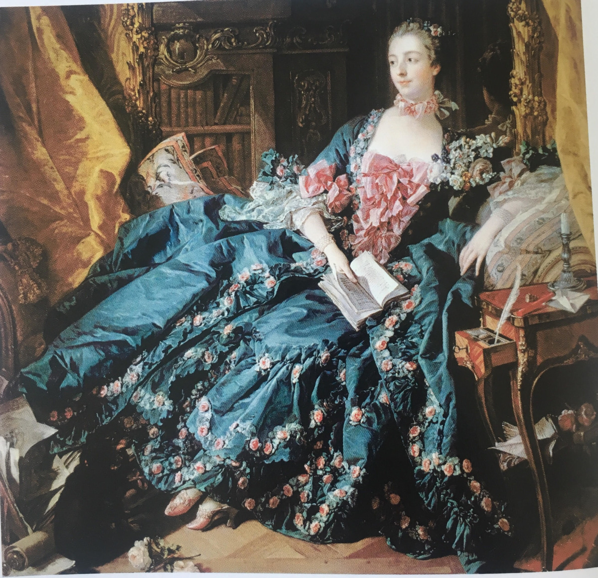 Portre, Madame de Pompadour