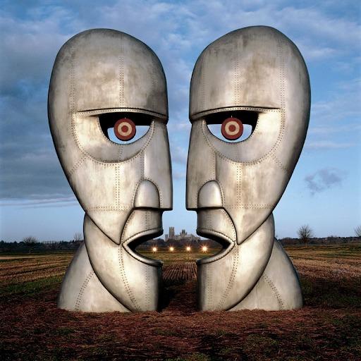 """Pink Floyd """"The Divison Bell"""" Albüm Kapağı"""