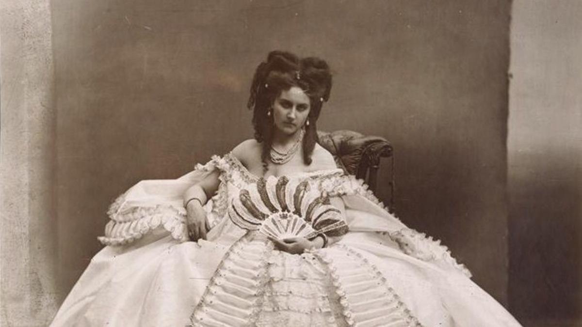 Virginia Oldoini by Adolphe Braun