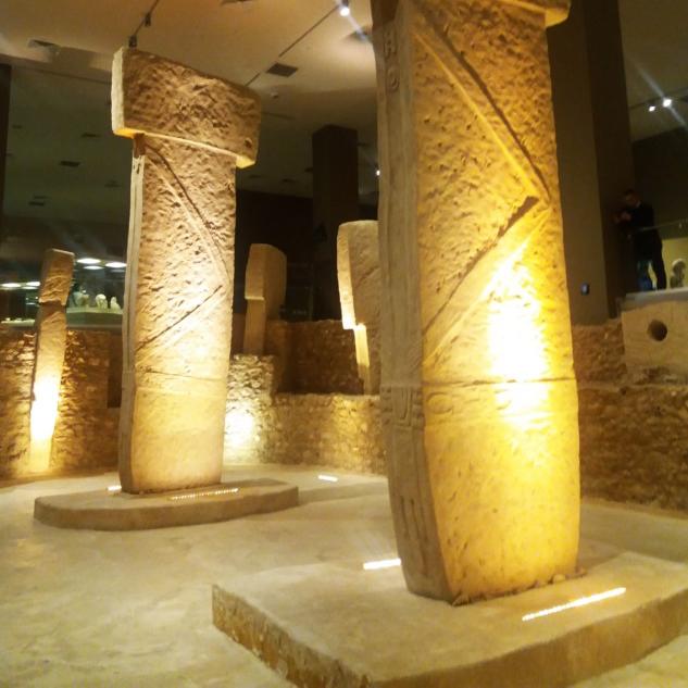 Göbekli Tepe Replikaları, Şanlıurfa Arkeoloji Müzesi