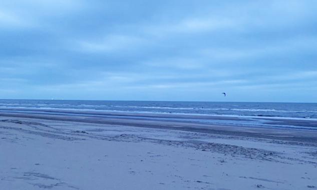 Noordwijk'ten Kuzey Denizi'ne Bakış