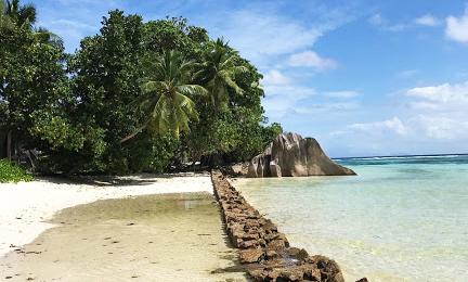Anse Source D'argent Plajı, La Digue Adası