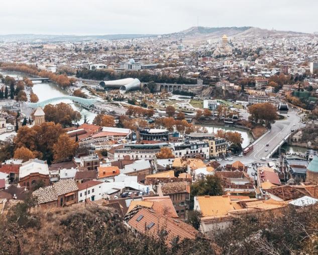 Kuşbakışı Tiflis