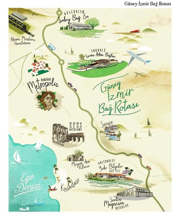 Güney İzmir Bağ Rotası