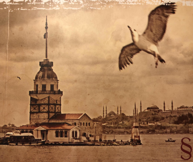 İstanbul Hatırası, Kitap Kapağı