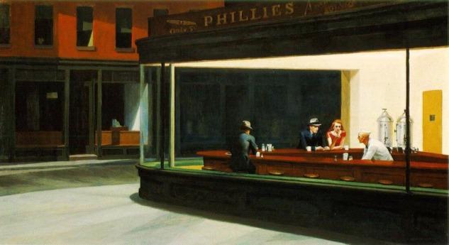 Edward Hopper, Nighthawks, 1942